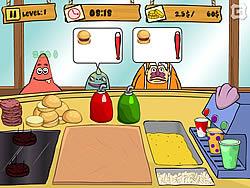 Spongebob Patty Dash game