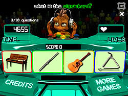 Instruments Trivia game