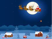 Santa Gifts Throw game