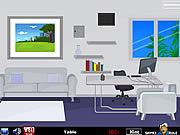 Play White room escape Game