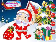 Santa Dress Up game