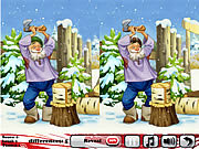 Play Sweet new year 5 differences Game