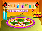 Play Decor your pizza Game