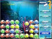 Play Aqua pop Game