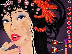 Asian Girl Makeover game