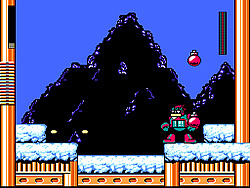 Mega Man Christmas Carol game