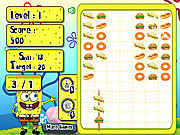 Play Spongebob food skewer Game
