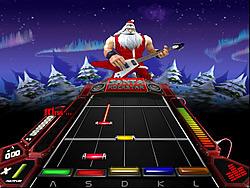 เล่นเกมฟรี Santa Rockstar 4