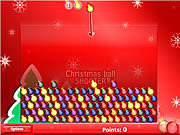 Play Christmas ball shooter Game