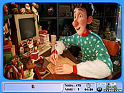 Arthur Christmas Hidden Objects game
