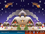 Xmas Differences game