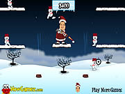 Play Snowball launcher Game