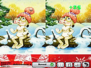 Play Winter differences Game