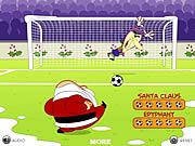 Santa Goal game