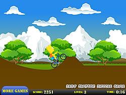 Bart Simpson Bicycle Game game