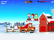 Play Santa gifts delivery Game
