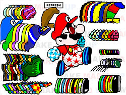 Mario Dressup game
