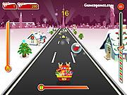 Crazy Santa Racer game