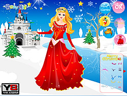 Disney Princess Christmas game