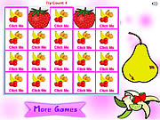 Play Fruit matching pairs Game
