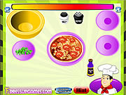 Play Make a perfect pizza with chef rick Game