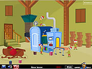Play Santa toy factory escape Game