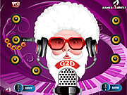 Santa DJ Makeover game