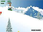 ben 10 snowboard game