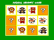 Play Animal memory game Game