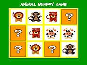 Animal Memory Game game