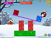 Play Penguin fall Game
