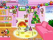 Play New year room decor Game