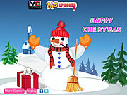 Snowman Christmas Decor game