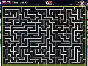 Christmas Maze game