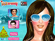 Play Megan fox celebrity makeover Game