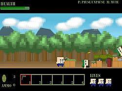 Squares Shootout game