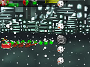 Merry Christmas Attack of the Snowmen game
