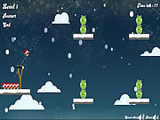 Play Angry birds merry christmas Game