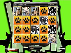 Matching Puppies game