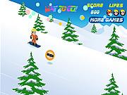 Play Naruto snowboarding Game