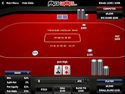 Texas Holdem Poker Heads Up oyunu