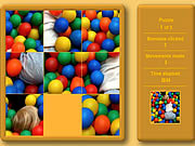 Play Fun kids sliding puzzle Game