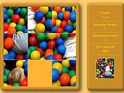 Play Fun kids sliding puzzle Game