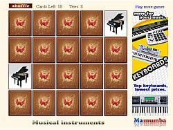 Musical Instruments game