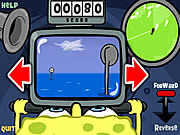 Play Sponge bob square pants bumper subs Game