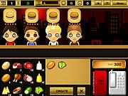 Play Burger bar game Game