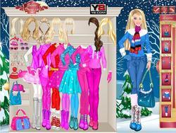 Barbie Winter na laro