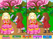 Play Magic fairy tale book difference Game