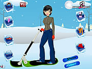 Ski Girl Dress Up game