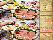 Delicious Foods Differences game